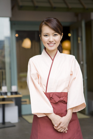 acomodador: Asian waitress