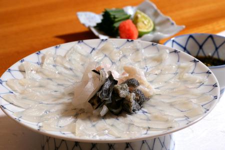 puffer: Puffer fish meat Stock Photo