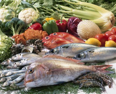 fresh fish: Fresh fish Stock Photo