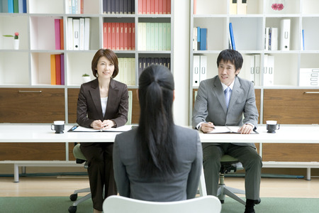 business interview: Business interview session Stock Photo