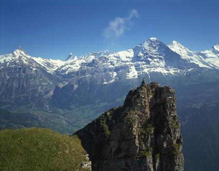 oberland: Berner Oberland, switzerland Stock Photo