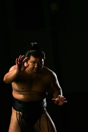 sumo: Sumo Wrestler Getting Ready