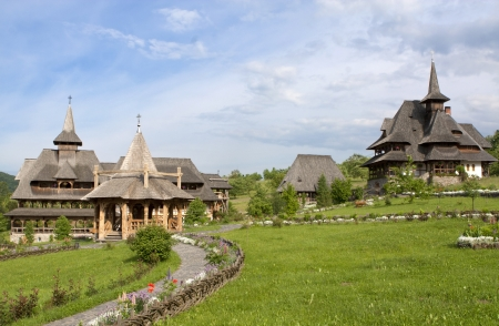 Barsana Monastery, Maramures - Romania