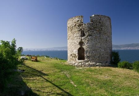 Nesebar old tower, Bulgaria Reklamní fotografie