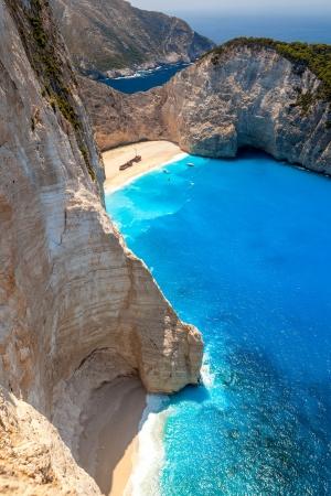 Zakynthos island in Greece with most typical beach spot Reklamní fotografie