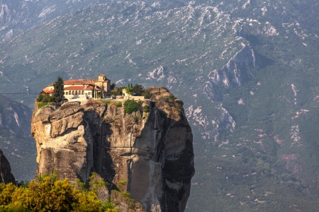 meteora: Greece, Meteora, monastery Holy Trinity