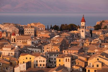 Kerkyra Town in Corfu photo