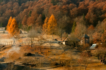 Ceahlau Mountains, Romania photo