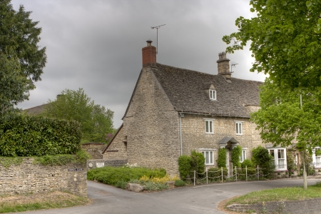 Burford House in a cloudy day photo