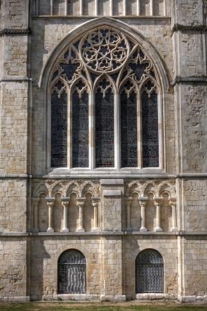 canterbury: La cath�drale de Canterbury, d�tails d'architecture