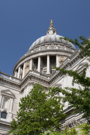 St Pauls Cathedral Stock Photo