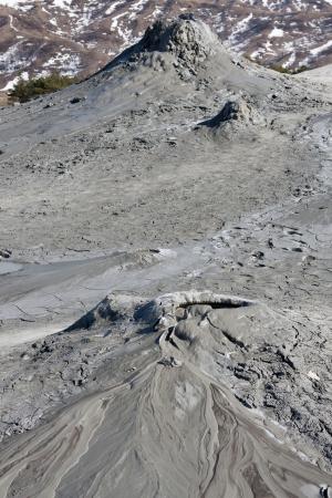 Muddy Volcanos, Buzau Romania