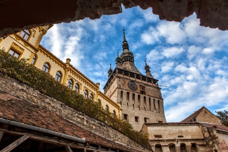 fortified: Sighisoara is the only medieval fortified city, it has been listed by the UNESCO  Romania Editorial