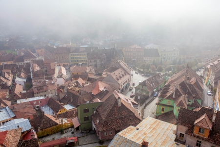 Sighisoara Ciudad Medieval, Rumania photo