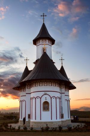 recluse: Zosin Monastery, Romania Stock Photo