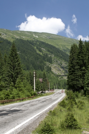 transfagarasan: Transfagarasan Highway, Romania Stock Photo