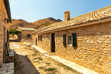 admired: This historic village of Palea (Old) Perithia (one of the islands most admired places to visit)