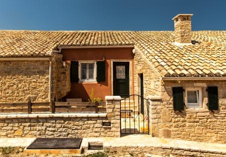 casa vecchia: Vecchia casa di Perithia vecchio villaggio, Corfu