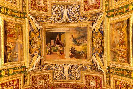 vatican: Vatican wall details. Rome, Italy