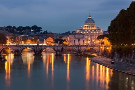 View of Saint Peters Basilica,Vatican