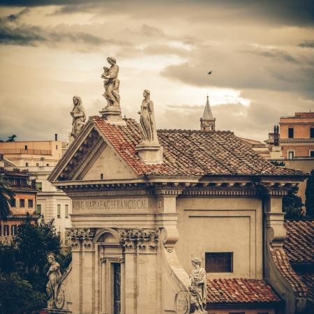 romana: Church of Santa Francesca Romana, Rome Italy