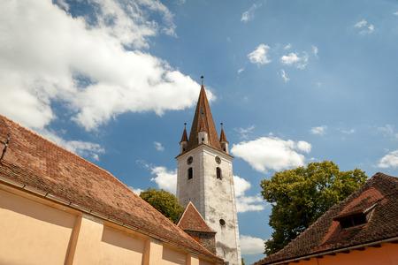 cristian: Cristian Monastery, Sibiu, Romania Stock Photo