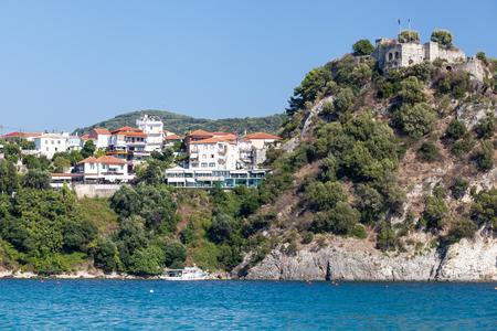 ionian: Parga Castle, view from Valtos Beach, Epirus, Greece