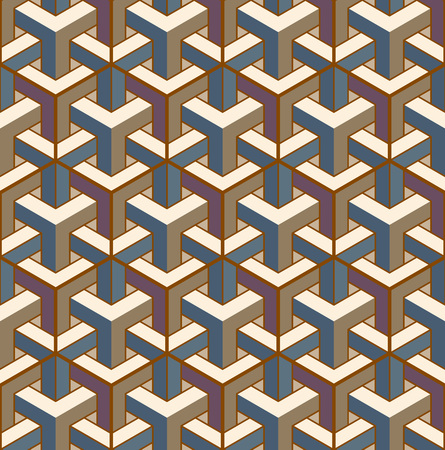 Color geometric ornaments. Set of seamless patterns for web, textile and wallpapers, abstract background. Fabric texture