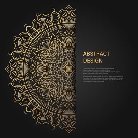 Fondo de lujo abstracto, tarjeta de boda de invitación elegante de ornamento, invitación, diseño de vector de ilustración de banner de portada de telón de fondo