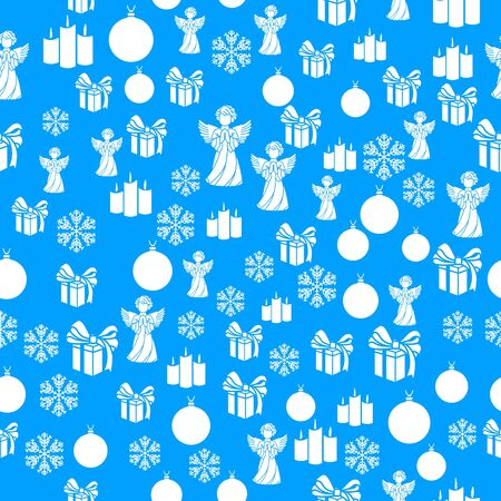 Winter snowflakes border card vector background. Macro flying border illustration, holiday banner with flakes confetti scatter frame, snow elements. Cold season symbols.