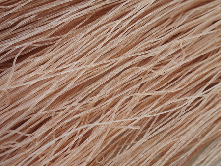 glycemic: brown rice dried noodle for diabetes Stock Photo