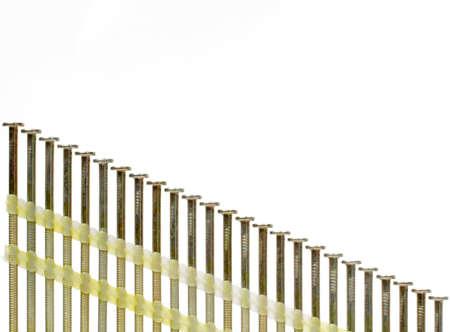Nailgun Nails Standard-Bild