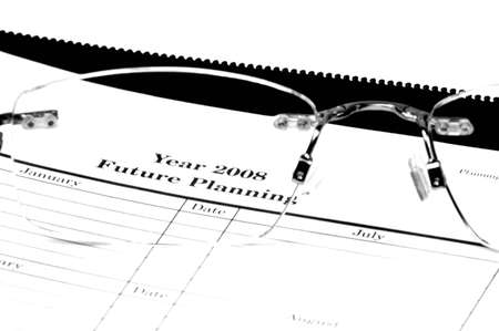 Year 2008 Future Planning Conceptual Stock Photo