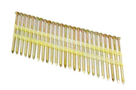 Nailgun nails used in a framing nail gun