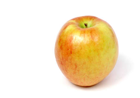 Apple isoliert auf weiß Standard-Bild - 648833