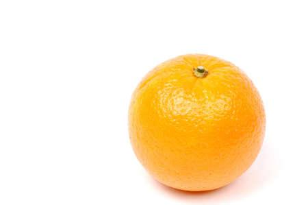 orange isolated on white Standard-Bild