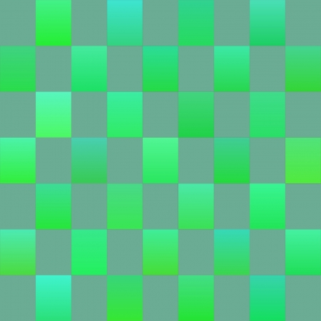 checker: Green Checker Squares Illustration