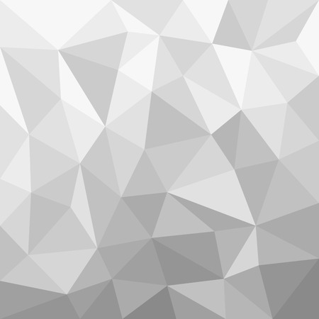 greyscale: Greyscale Background Polygon vector Illustration