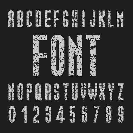 Create Alphabet Vector Font Design