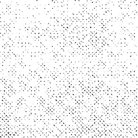 grunge texture on white background, abstract grungy vector, halftone dot, rough monochrome design Vektorové ilustrace