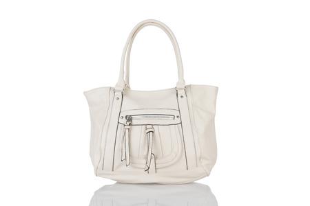leather bag: fashion leather bag Stock Photo