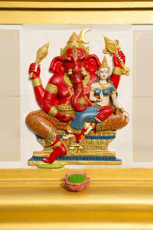 gaspard: Ganesha statue and Hindu god, Thailand.