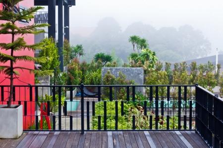 modern design balcony