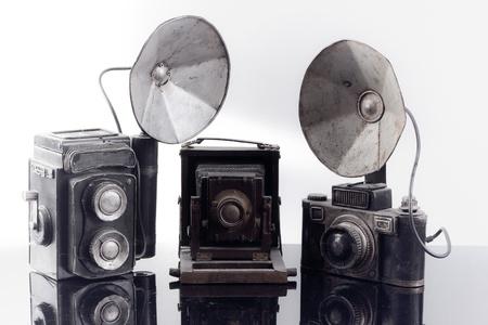 3 old camera photo