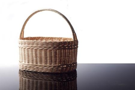 interleaved: beautiful wicker handmade basket