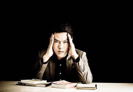 stress guy Stock Photo - 16321738