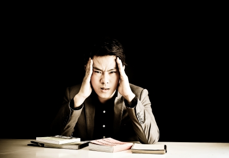 stress guy Stock Photo - 16321738