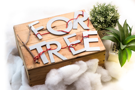 privileges: safe the tree Stock Photo