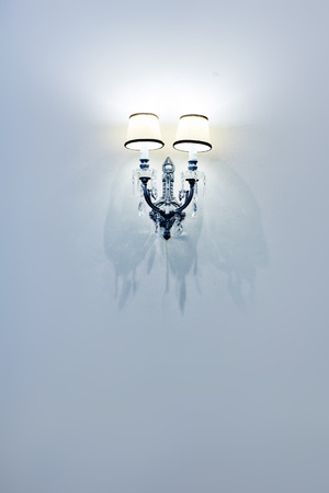 wall lamp: wall lamp on background