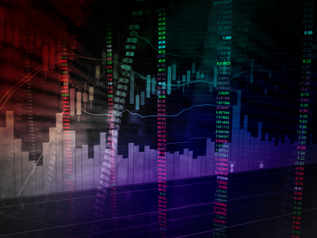 growth concept: stock market chart analysis image